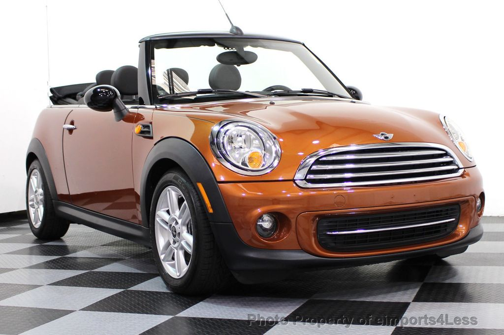 2014 MINI Cooper Convertible CERTIFIED COOPER CABRIOLET 6 SPEED  - 16845294 - 26