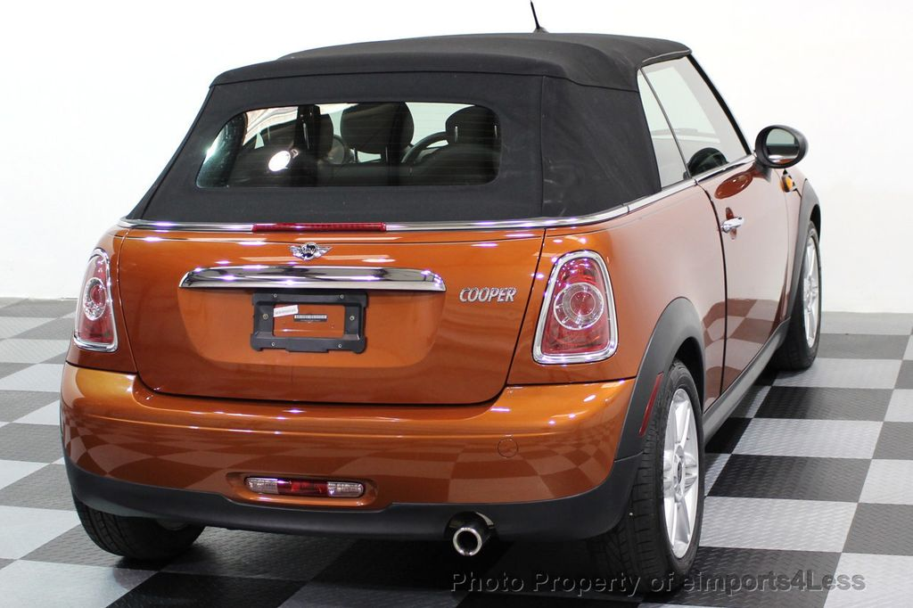 2014 MINI Cooper Convertible CERTIFIED COOPER CABRIOLET 6 SPEED  - 16845294 - 29