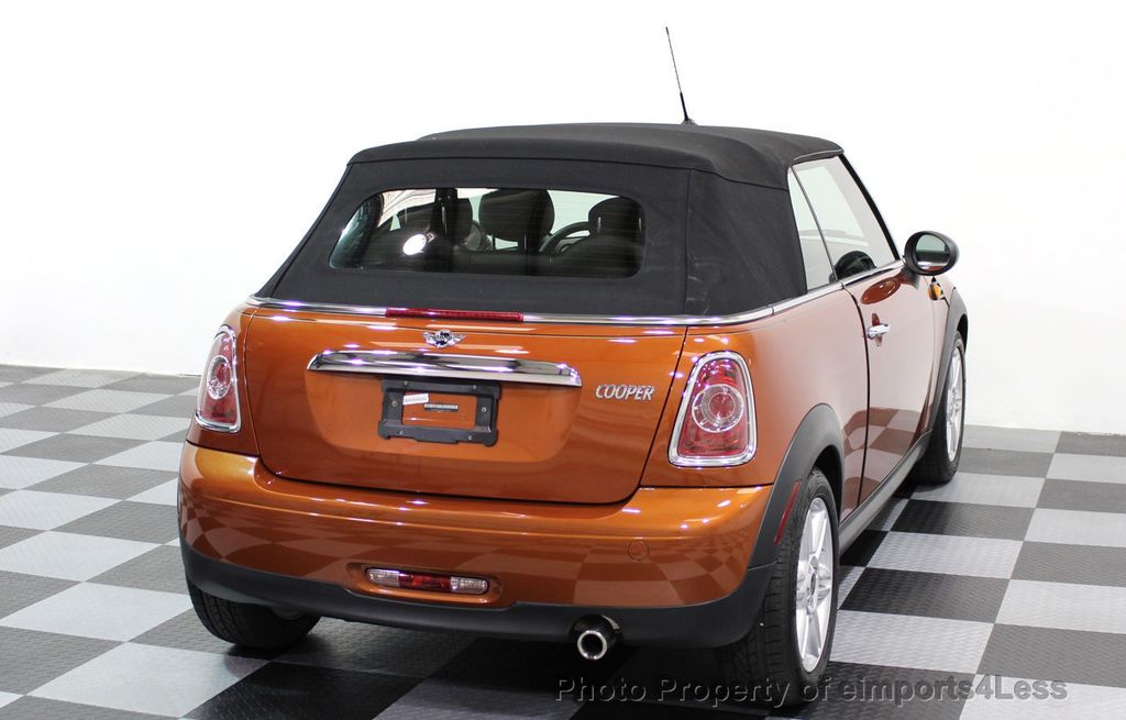 2014 MINI Cooper Convertible CERTIFIED COOPER CABRIOLET 6 SPEED  - 16845294 - 3