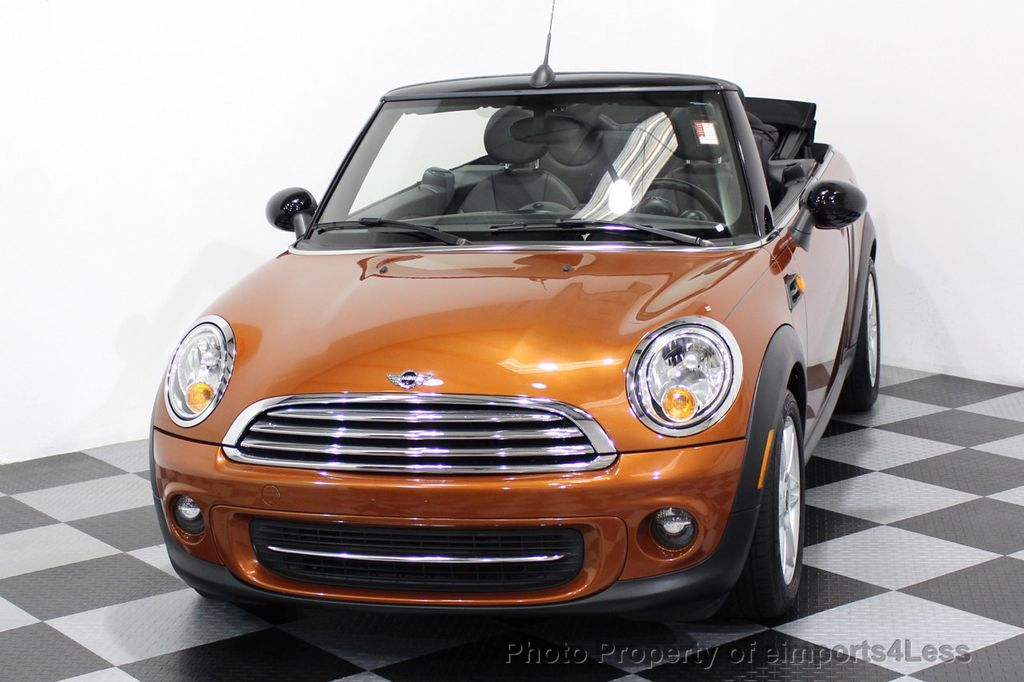 2014 MINI Cooper Convertible CERTIFIED COOPER CABRIOLET 6 SPEED  - 16845294 - 40