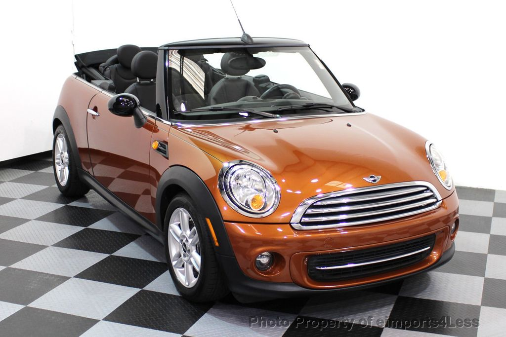 2014 MINI Cooper Convertible CERTIFIED COOPER CABRIOLET 6 SPEED  - 16845294 - 41