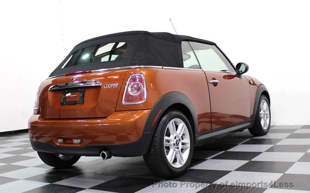 2014 MINI Cooper Convertible CERTIFIED COOPER CABRIOLET 6 SPEED  - 16845294 - 43
