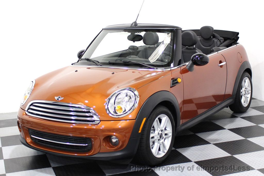 2014 MINI Cooper Convertible CERTIFIED COOPER CABRIOLET 6 SPEED  - 16845294 - 44