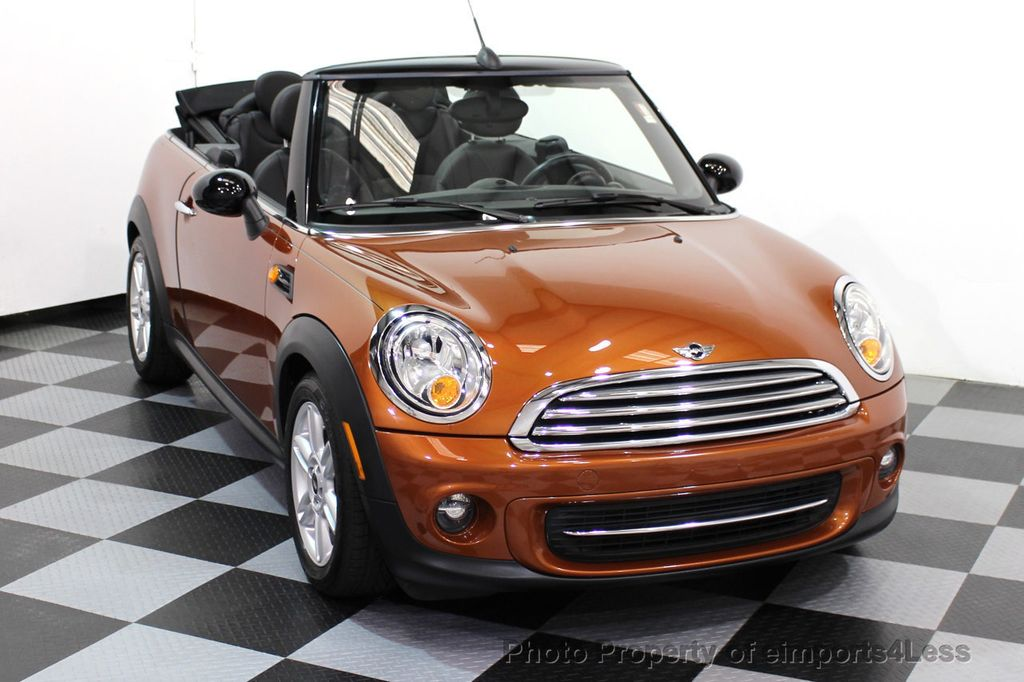 2014 MINI Cooper Convertible CERTIFIED COOPER CABRIOLET 6 SPEED  - 16845294 - 45