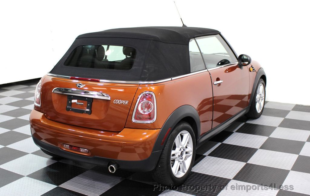 2014 MINI Cooper Convertible CERTIFIED COOPER CABRIOLET 6 SPEED  - 16845294 - 47