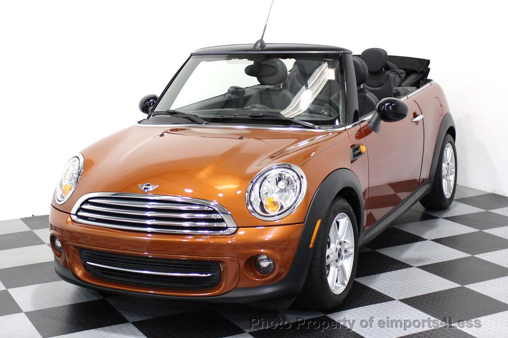 2014 MINI Cooper Convertible CERTIFIED COOPER CABRIOLET 6 SPEED  - 16845294 - 48