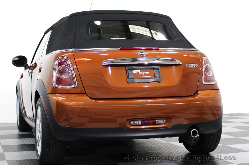 2014 MINI Cooper Convertible CERTIFIED COOPER CABRIOLET 6 SPEED  - 16845294 - 49