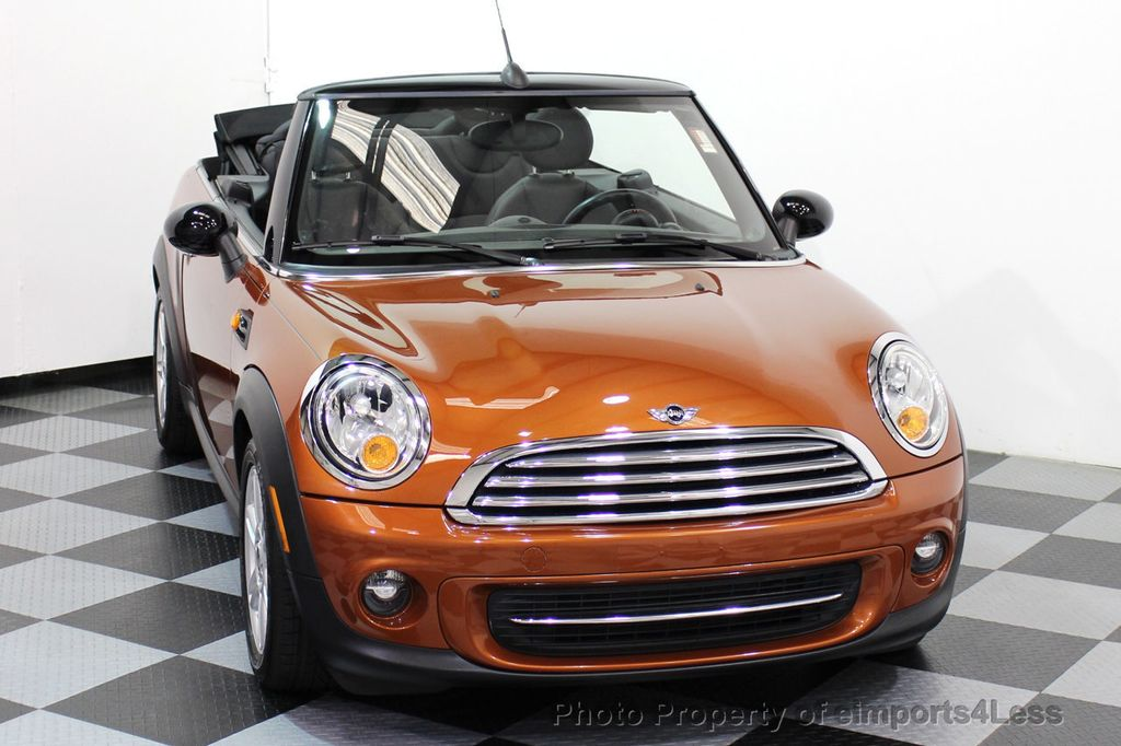 2014 MINI Cooper Convertible CERTIFIED COOPER CABRIOLET 6 SPEED  - 16845294 - 50