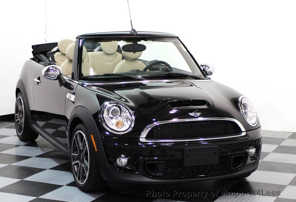 2014 used mini cooper convertible certified cooper s convertible automatic sport at. Black Bedroom Furniture Sets. Home Design Ideas