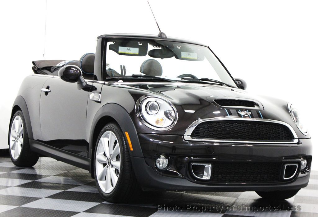 2014 used mini cooper convertible certified cooper s highgate package convertible at. Black Bedroom Furniture Sets. Home Design Ideas