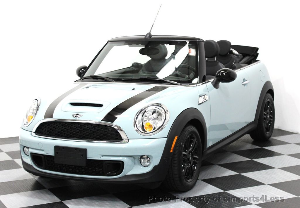 2014 used mini cooper convertible certified mini cooper s navigation cabrio at eimports4less. Black Bedroom Furniture Sets. Home Design Ideas