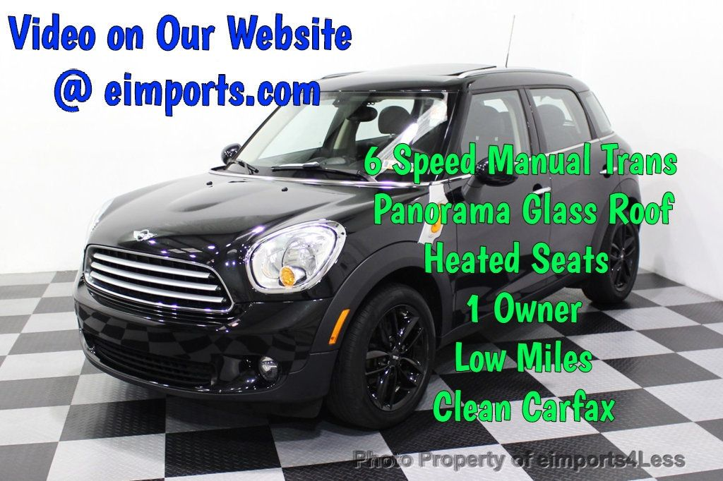 2014 MINI Cooper Countryman CERTIFIED COUNTRYMAN 6 SPEED - 18104447 - 0