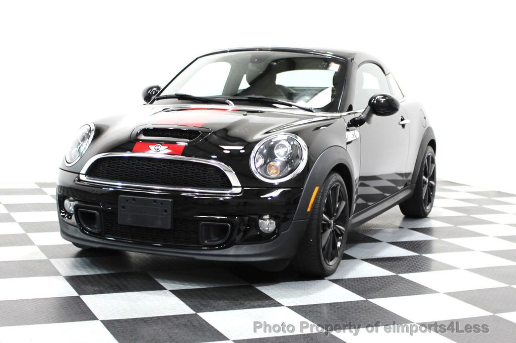 2014 MINI Cooper Coupe CERTIFIED COOPER S SPORT PACKAGE COUPE - 16067265 - 17