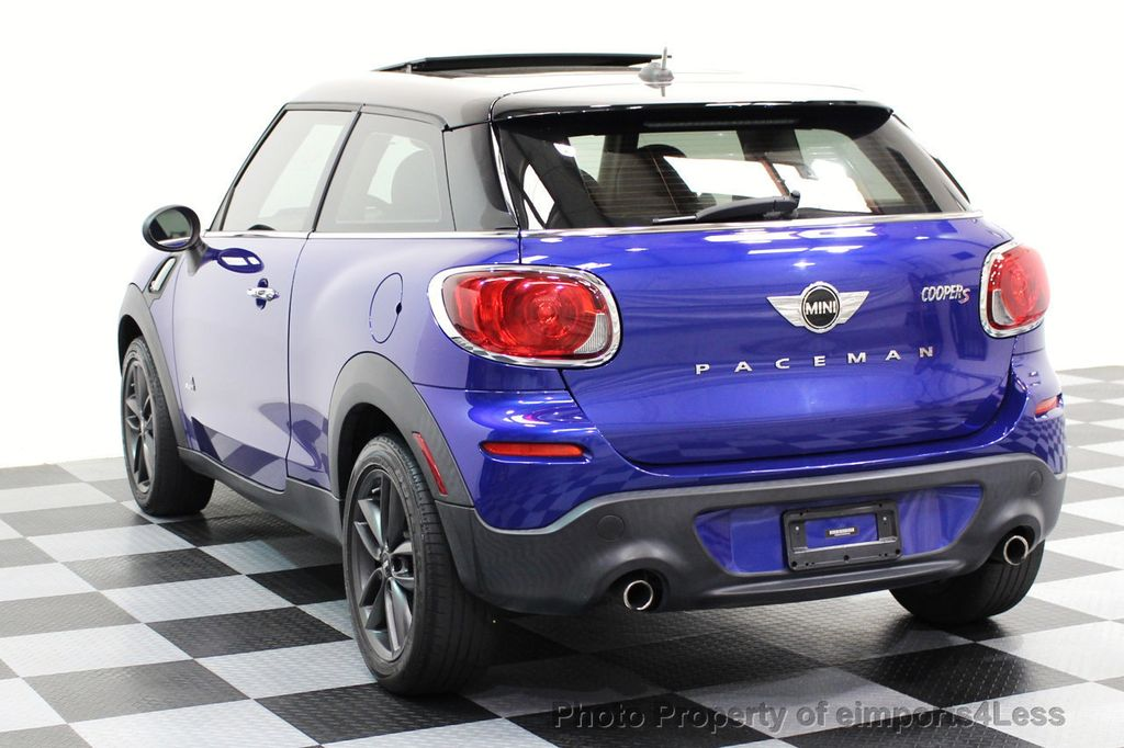 2014 MINI Cooper Paceman CERTIFIED PACEMAN S ALL4 AWD 6 SPEED NAVIGATION - 16535941 - 27