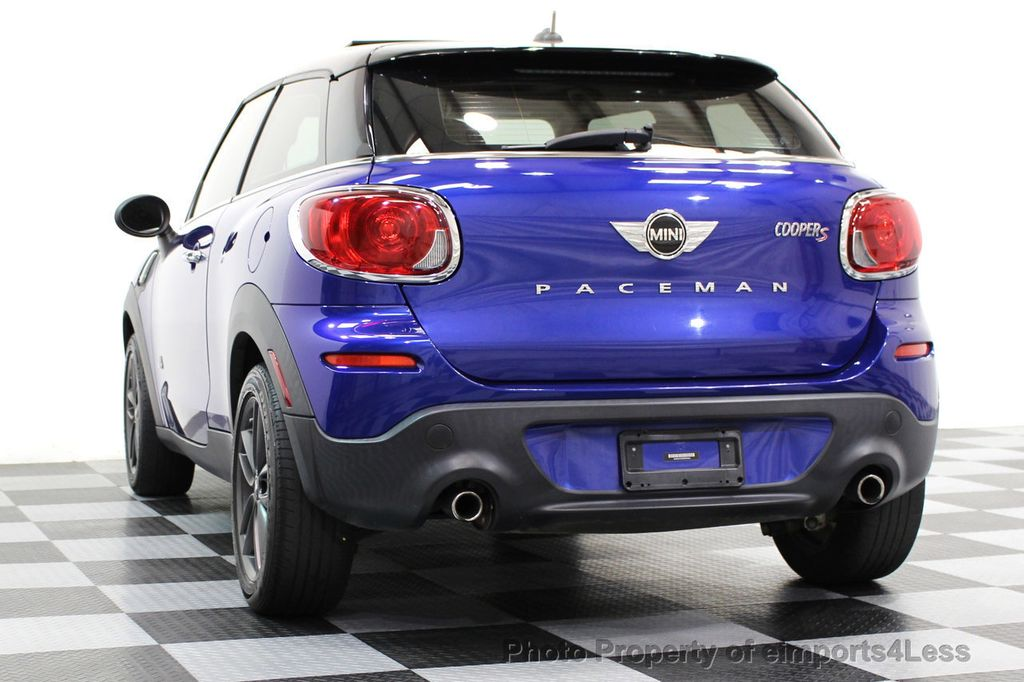 2014 MINI Cooper Paceman CERTIFIED PACEMAN S ALL4 AWD 6 SPEED NAVIGATION - 16535941 - 42