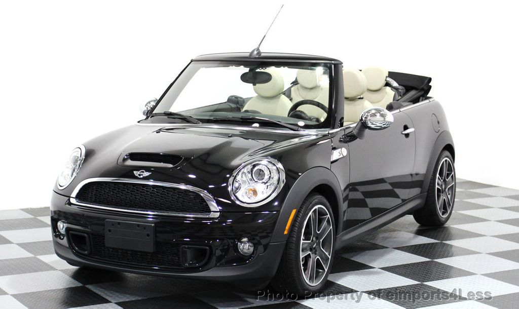 2014 used mini cooper s convertible certified cooper s convertible automatic sport at. Black Bedroom Furniture Sets. Home Design Ideas