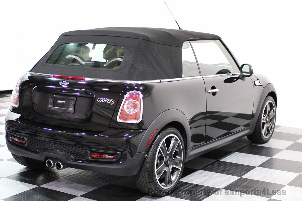 2014 Used MINI Cooper S Convertible CERTIFIED COOPER S CONVERTIBLE ...