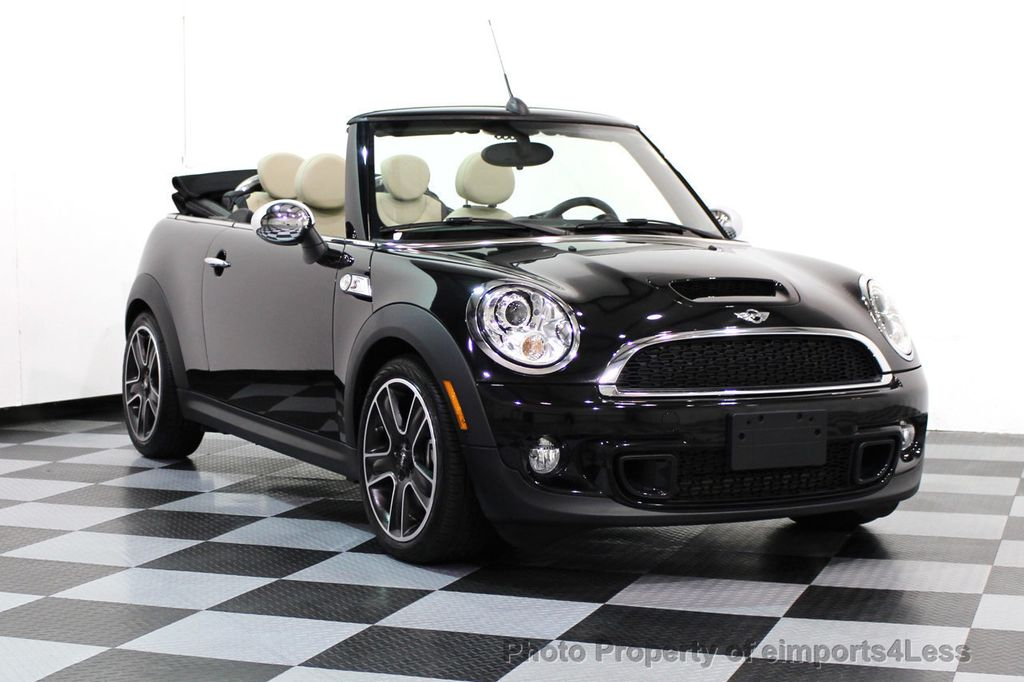 Used Mini Cooper Convertible >> 2014 Used Mini Cooper S Convertible Certified Cooper S Convertible