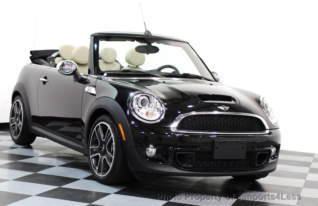 2017 Mini Cooper S Convertible Certified Automatic Sport 15689547 41