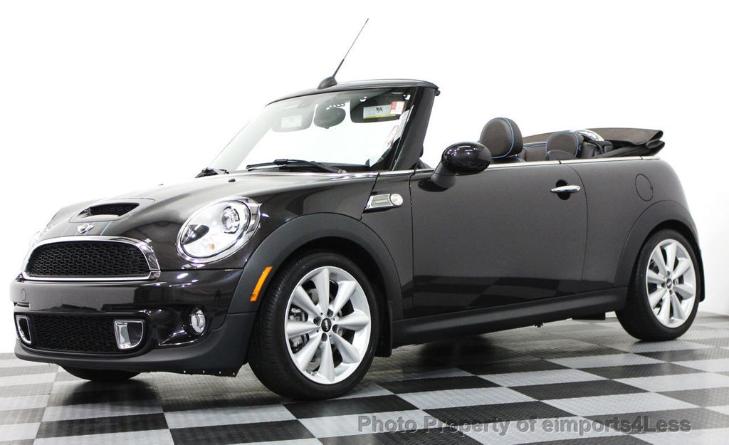 2017 Mini Cooper S Convertible Certified Highgate Package 15565750 13