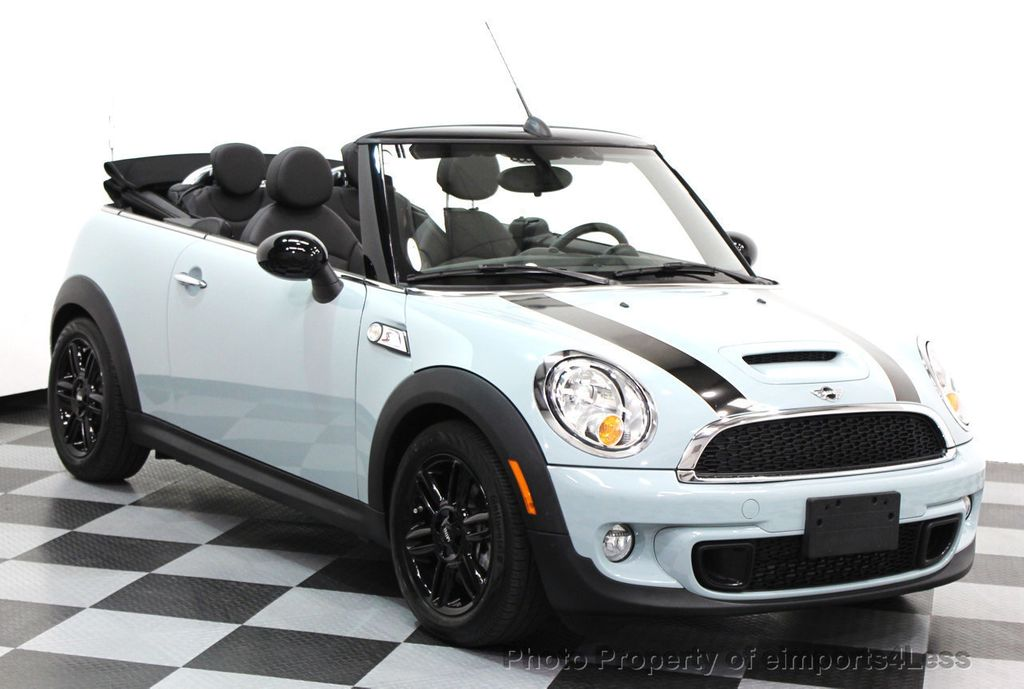 2014 used mini cooper s convertible certified mini cooper s navigation cabrio at eimports4less. Black Bedroom Furniture Sets. Home Design Ideas