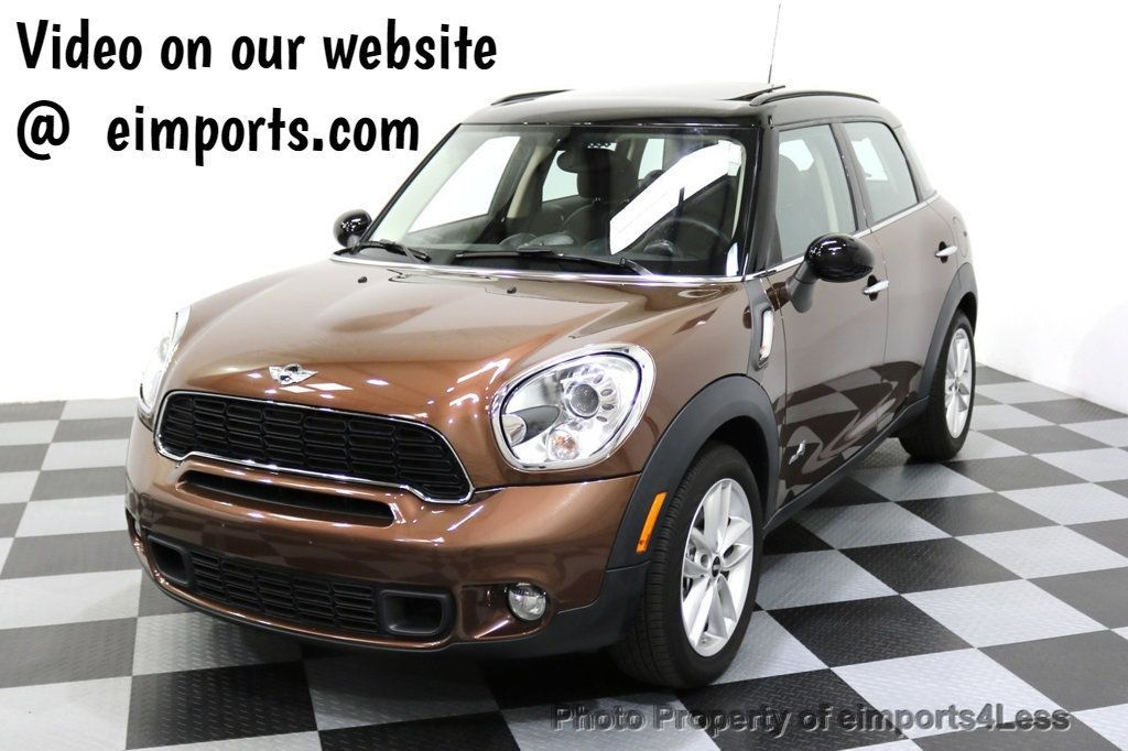 2014 MINI Cooper S Countryman CERTIFIED COOPER COUNTRYMAN S ALL4 AWD - 17736549 - 0