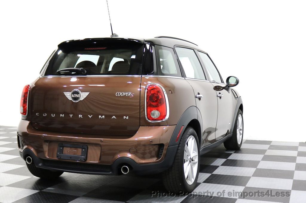 2014 MINI Cooper S Countryman CERTIFIED COOPER COUNTRYMAN S ALL4 AWD - 17736549 - 31