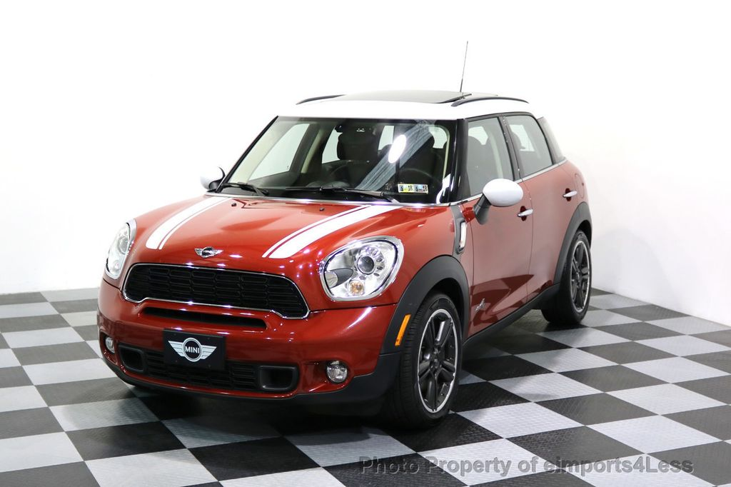 2014 MINI Cooper S Countryman CERTIFIED COUNTRYMAN S ALL4 AWD 6 SPEED NAVIGATION - 17245374 - 0