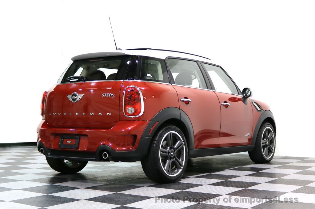 2014 MINI Cooper S Countryman CERTIFIED COUNTRYMAN S ALL4 AWD 6 SPEED NAVIGATION - 17245374 - 31