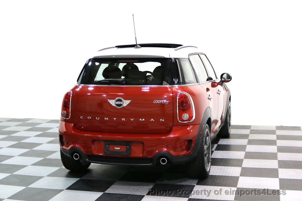 2014 MINI Cooper S Countryman CERTIFIED COUNTRYMAN S ALL4 AWD 6 SPEED NAVIGATION - 17245374 - 42