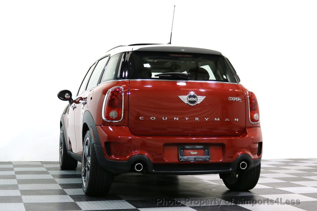 2014 MINI Cooper S Countryman CERTIFIED COUNTRYMAN S ALL4 AWD 6 SPEED NAVIGATION - 17245374 - 49