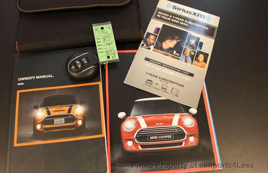 2014 MINI Cooper S Hardtop 2 Door CERTIFIED COOPER S HATCHBACK  - 17308040 - 36