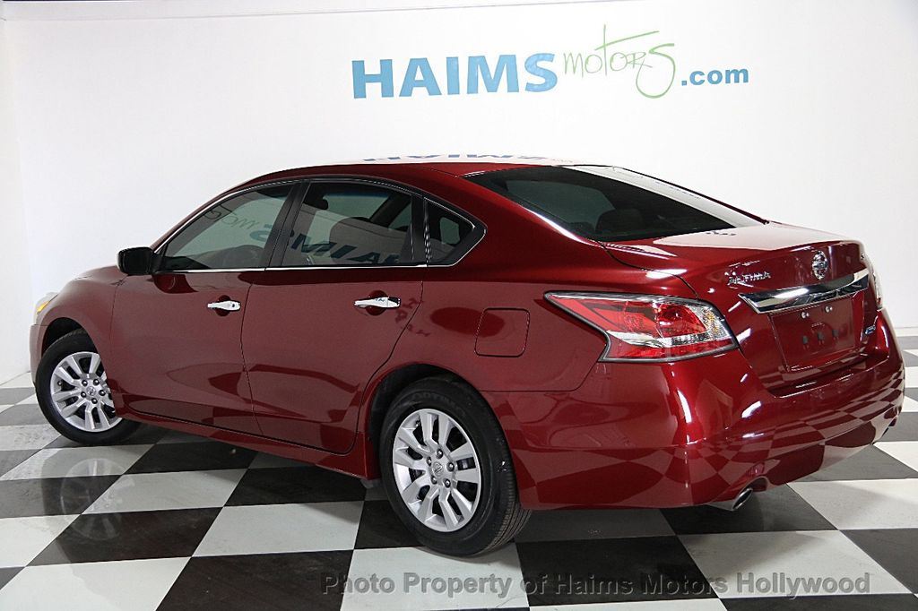 2014 used nissan altima 4dr sedan i4 2 5 s at haims motors serving fort lauderdale hollywood. Black Bedroom Furniture Sets. Home Design Ideas