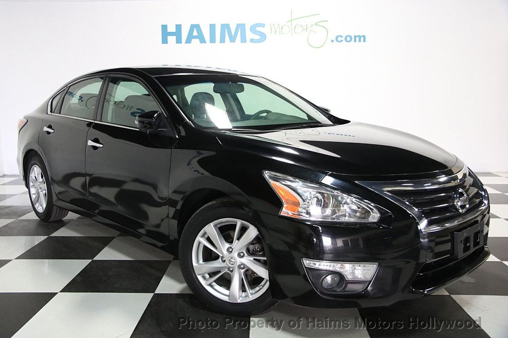 2014 used nissan altima 4dr sedan i4 2 5 sl at haims motors hollywood serving fort lauderdale. Black Bedroom Furniture Sets. Home Design Ideas