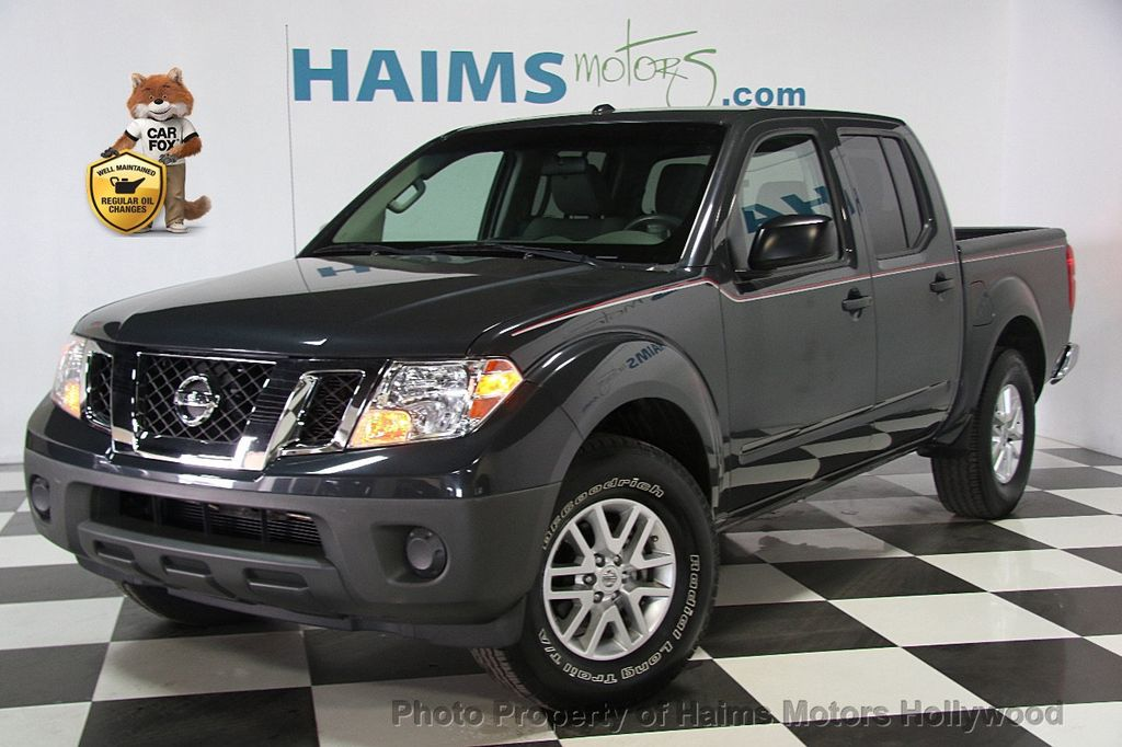 2014 Used Nissan Frontier 2wd Crew Cab Lwb Automatic Sv At