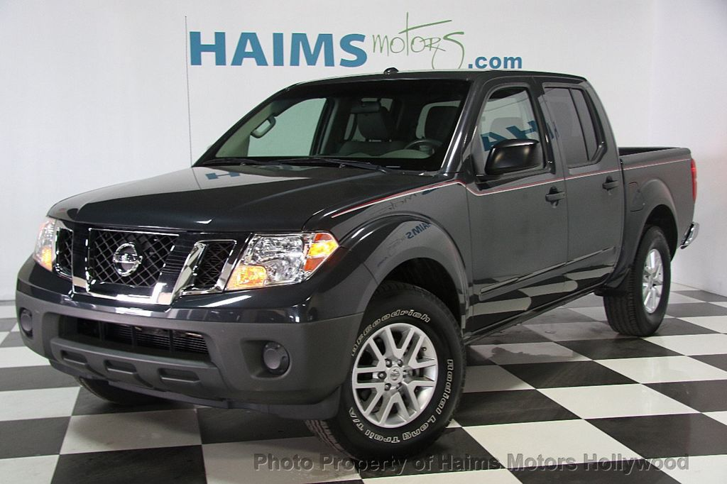 2014 used nissan frontier 2wd crew cab lwb automatic sv at haims motors serving fort lauderdale. Black Bedroom Furniture Sets. Home Design Ideas