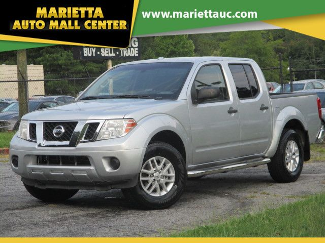 2014 Nissan Frontier 4WD Crew Cab SWB Automatic SV