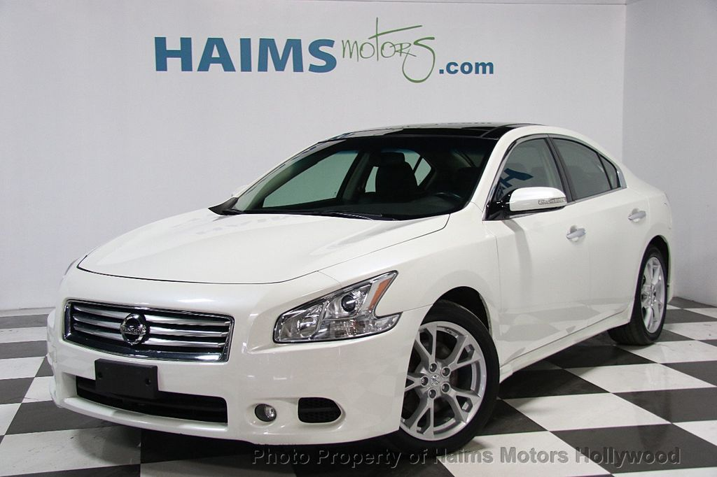 2014 used nissan maxima 4dr sedan 3 5 sv w premium pkg at haims motors serving fort lauderdale. Black Bedroom Furniture Sets. Home Design Ideas