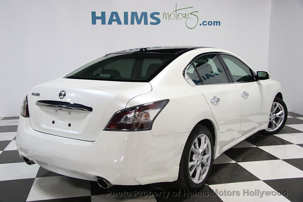 2014 used nissan maxima 4dr sedan 3 5 sv w premium pkg at haims motors hollywood serving fort. Black Bedroom Furniture Sets. Home Design Ideas