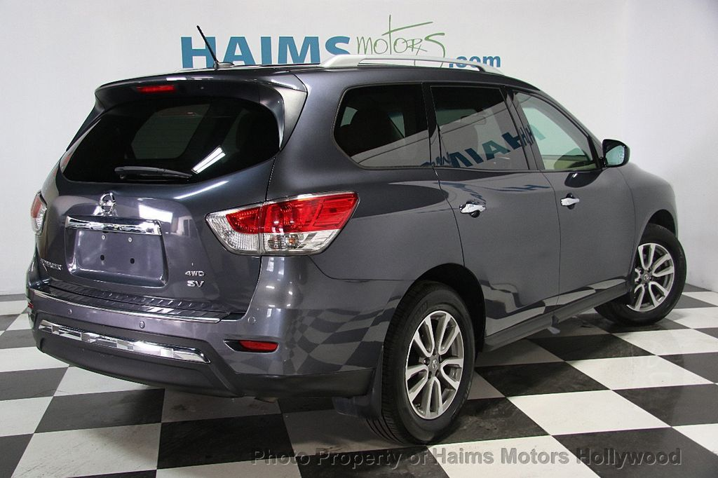 2014 Used Nissan Pathfinder 4WD 4dr SV at Haims Motors Serving Fort ...