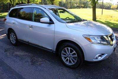 2014 Nissan Pathfinder ONE OWNER 4WD SL LEATHER MOONROOF SUV