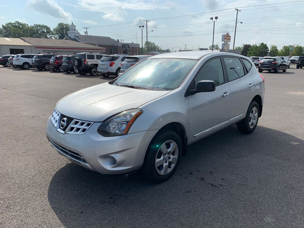 Nissan Rogue Select >> 2014 Used Nissan Rogue Select Fwd 4dr S At Allen Auto Sales