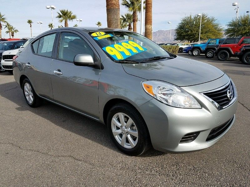 2014 used nissan versa at king of cars towbin dodge nv. Black Bedroom Furniture Sets. Home Design Ideas