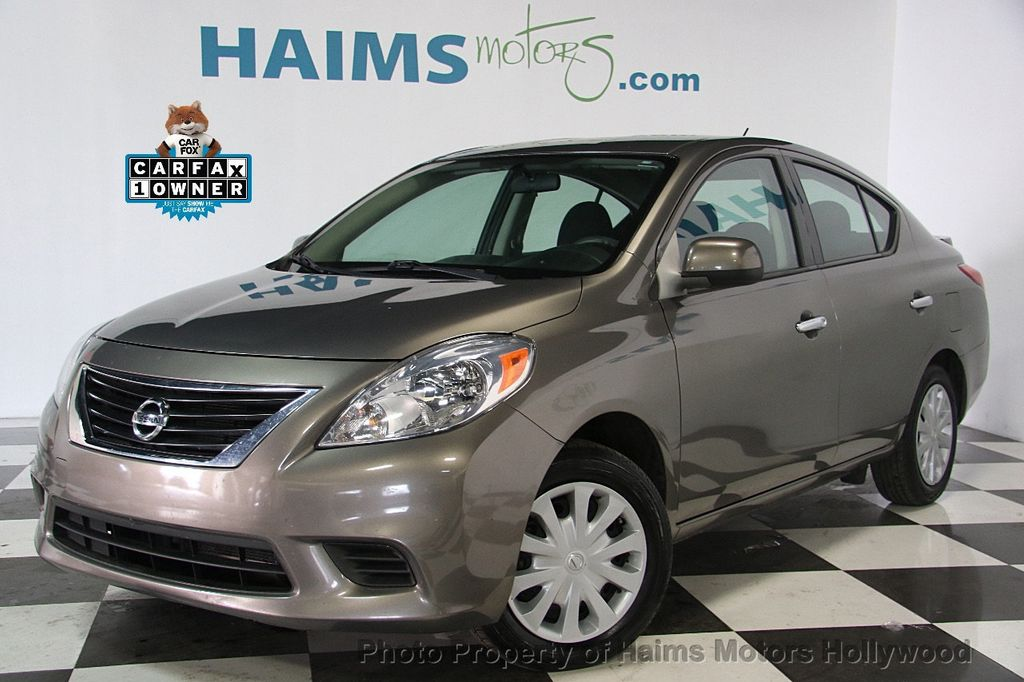 Ft Lauderdale Nissan >> 2014 Used Nissan Versa 4dr Sedan CVT 1.6 SV at Haims ...