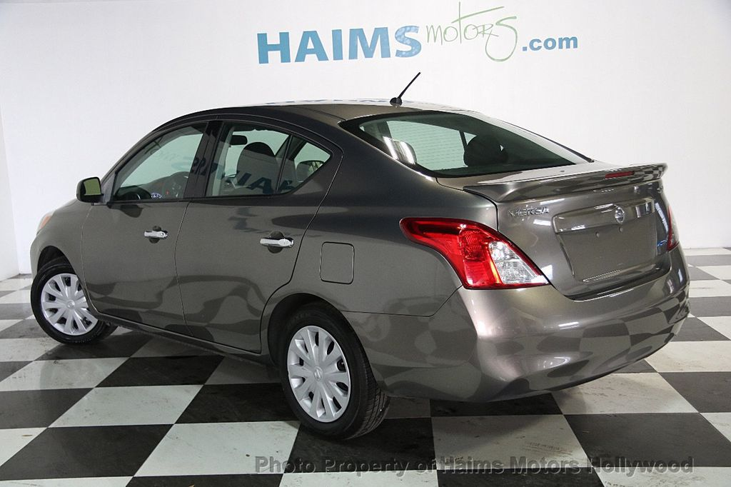 2014 used nissan versa 4dr sedan cvt 1 6 sv at haims motors serving fort lauderdale hollywood. Black Bedroom Furniture Sets. Home Design Ideas