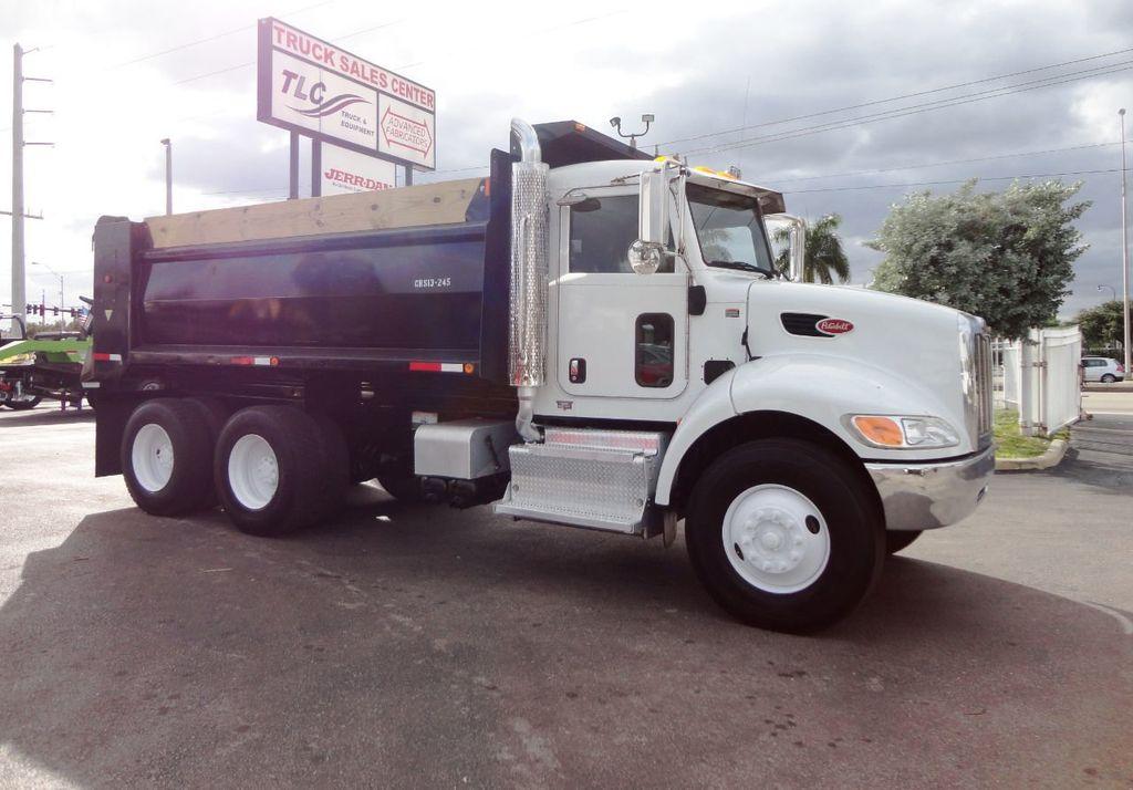 Used Dump Trucks >> 2014 Used Peterbilt 348 15ft Dump Truck Tandem Axle At Tri