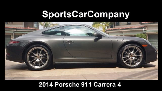 2014 Porsche 911 2dr Coupe Carrera 4 - 15391105 - 1
