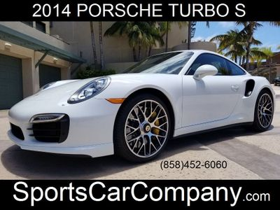 2014 Porsche 911 TURBO S COUPE