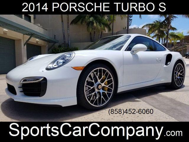 2014 Porsche 911 TURBO S COUPE 911 TURBO S COUPE - 17790192 - 0