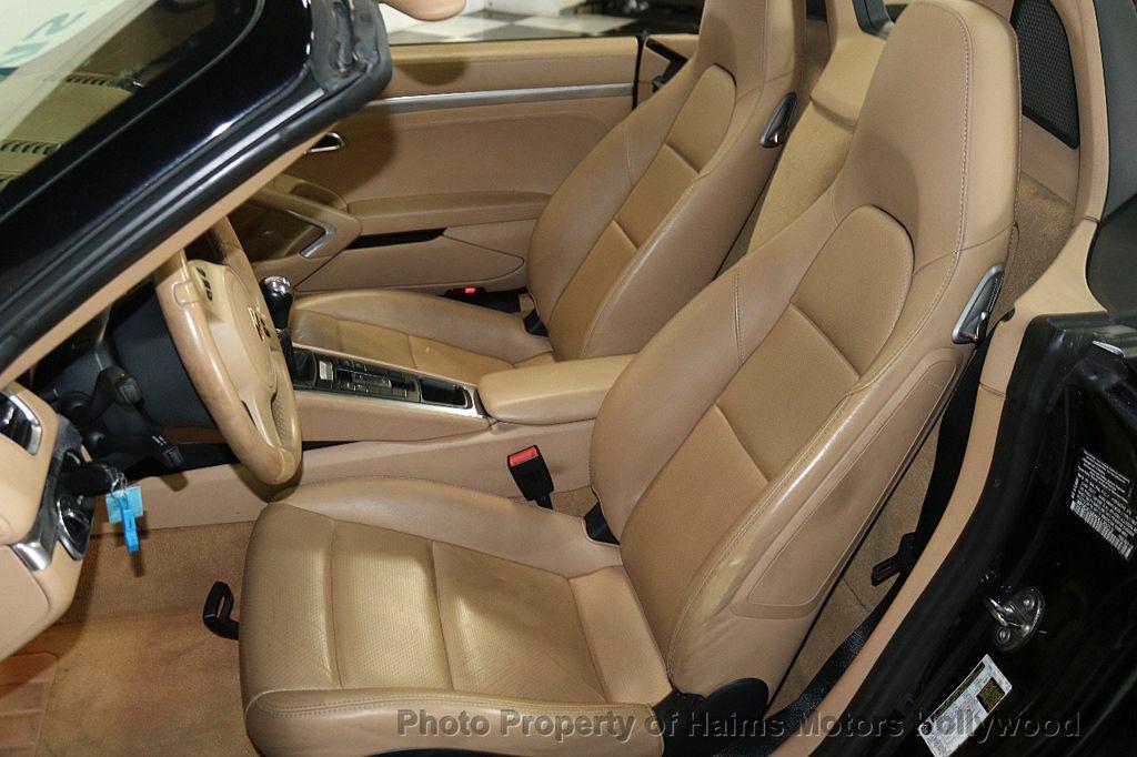 2014 Porsche Boxster 2dr Roadster - 17536410 - 19
